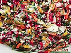 Sebzeli Salata