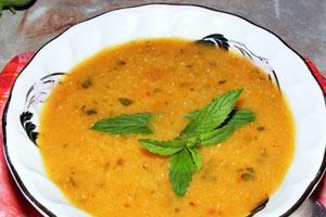 Zerdeçallı mercimek çorbası