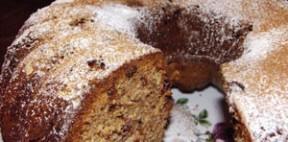 Üzümlü kakaolu kek