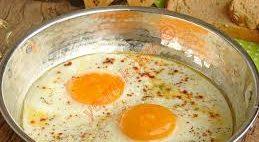 Sahanda Bandırmalı Yumurta