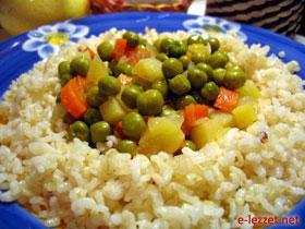Kepekli Pirinç Pilavı