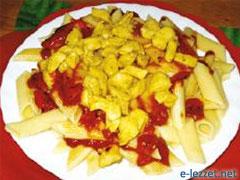 Tavuklu Makarna Salatası