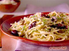 Zeytinli Spagetti